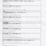 中学生クラス 生徒アンケート(1~3年生)